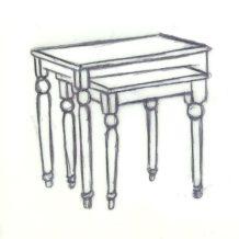 Zestawy stolików